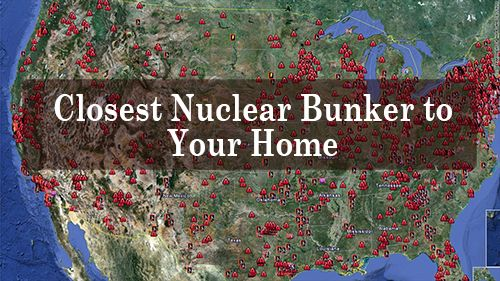 What's the Closest Natural Nuclear Bunker to Your Home