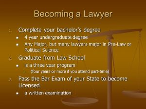 How to become a Lawyer