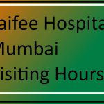 Saifee Hospital Visiting Hours