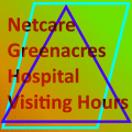Netcare  Greenacres Hospital Visiting Hours