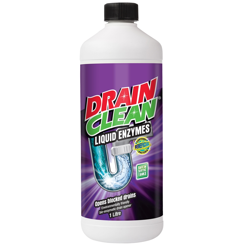 How to unclog a shower drain - Enzyme-based drain cleaner