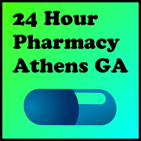24 Hour Pharmacy Athens GA