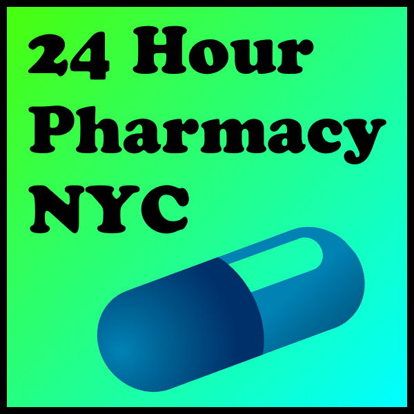 24 Hour Pharmacy NYC