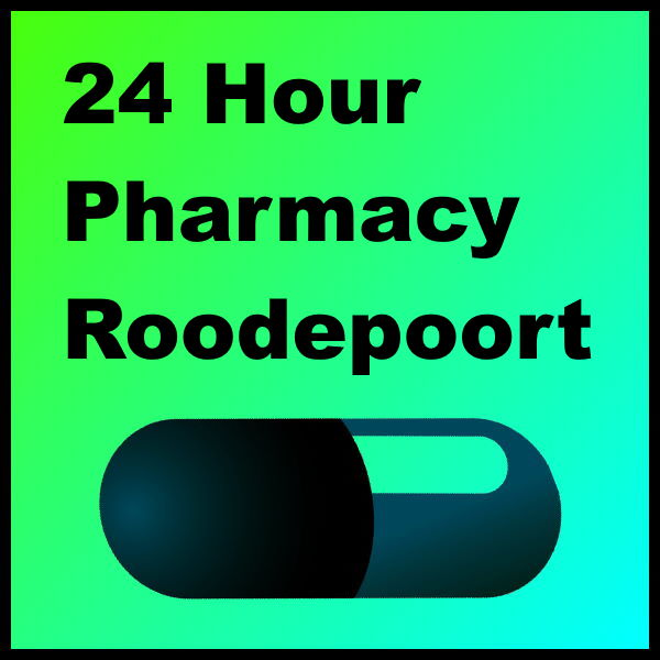 24 Hour Pharmacy Roodepoort