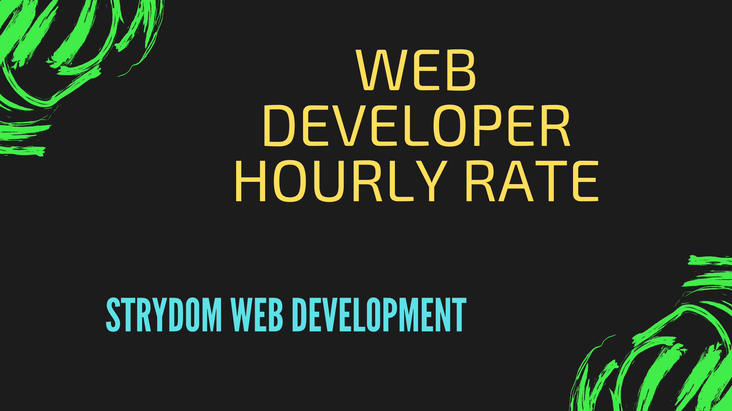 Web Developer Hourly Rate