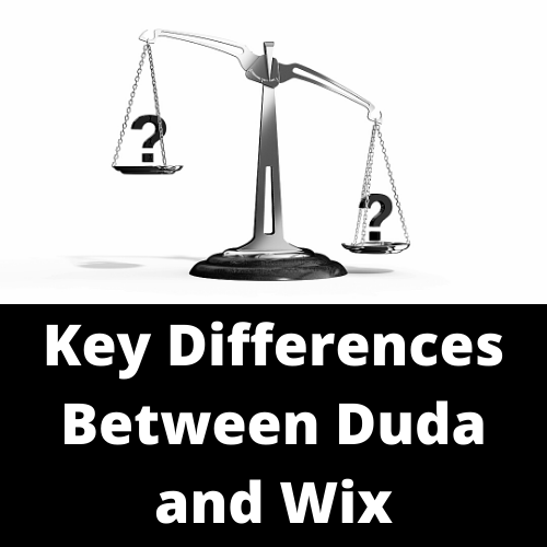 Key Differences Between Duda and Wix