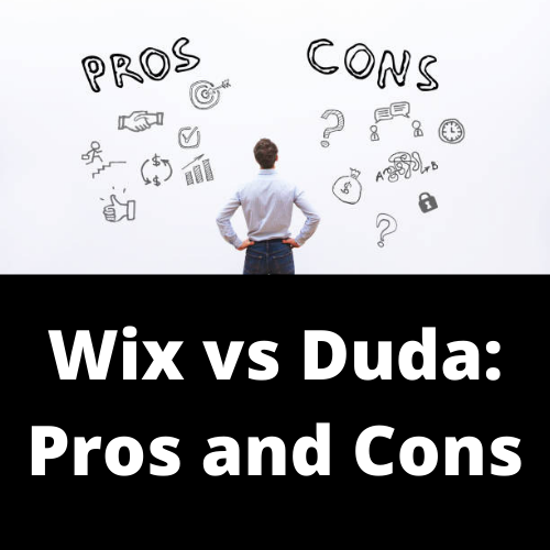 Wix vs Duda: Pros and Cons