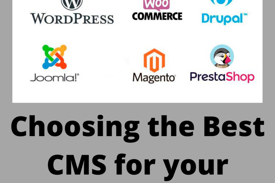 Choosing the Best CMS for your Website